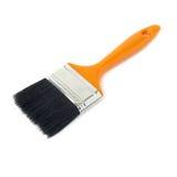 Paint brush over isolated white background Royalty Free Stock Photo