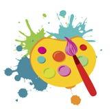 Paint brush Stock Photography