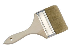 Paint Brush with path Royalty Free Stock Photography