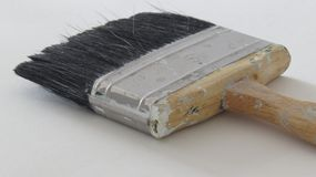 Paint brush for the creative artist stock photo
