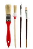 Paint Brush Set Royalty Free Stock Images