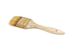 Paint Brush on Side Royalty Free Stock Photos