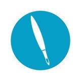 Paint brush supply isolated icon Royalty Free Stock Image