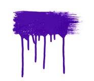 Paint brush texture royalty free stock photo
