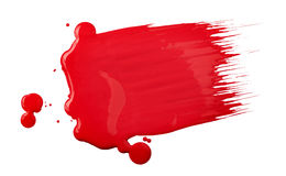 Paint brush texture Royalty Free Stock Photography