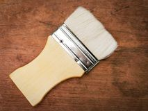 Paint brush. Use tools  color stock photography