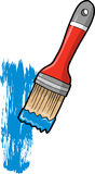 Paint Brush Vector Illustration Stock Photography