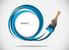 Paint brush  Vector Illustration Stock Photography
