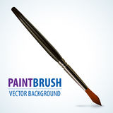 Paint brush, vector illustration Stock Images