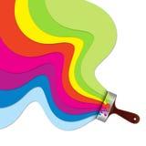 Paint brush vector Stock Photos