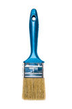 Paint brush on a white background. Blue Paint brush on a white background Royalty Free Stock Images