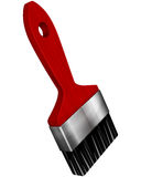 Paint brush on a white background Royalty Free Stock Photo