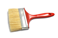 Paint brush on white Stock Image
