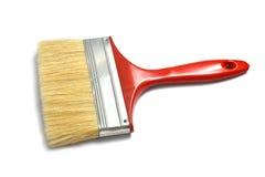Paint brush on white Stock Image