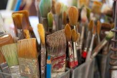 Paint Brushes Royalty Free Stock Photo