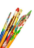 Paint brushes Stock Photos
