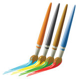 Paint brushes. Stock Photography