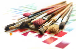 Paint Brushes Royalty Free Stock Images