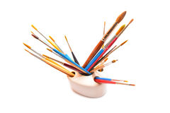 Paint brushes Stock Photography