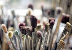 Paint Brushes II Royalty Free Stock Images