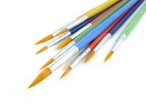 Paint brushes isolated Stock Image