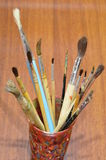 Paint brushes. Royalty Free Stock Image