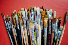Paint-brushes Royalty Free Stock Images