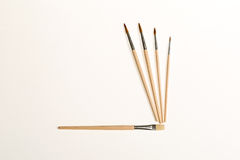 Paint brushes Stock Images