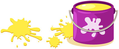 Paint bucket Royalty Free Stock Photos