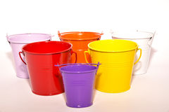 Paint bucket Royalty Free Stock Images