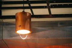 Paint bucket. Light lamp mood Stock Image