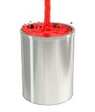 Paint Bucket - splash Stock Photo