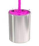 Paint Bucket - splash Stock Images