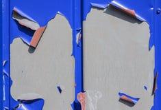 Paint bursts on metal Stock Photos