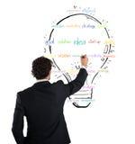 Paint business idea Stock Photo