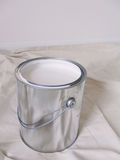 Paint can. Blank paint can with white paint Royalty Free Stock Photos