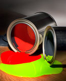 Paint in a can Stock Photo