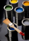 PAINT CAN Stock Photo