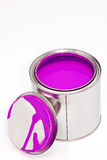 Paint can with cover Royalty Free Stock Images