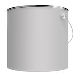 Paint can isolated Stock Photography