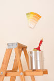 Paint Can on Ladder Stock Images
