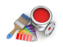 Paint can Royalty Free Stock Image