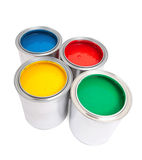 Paint cans #2 Stock Images