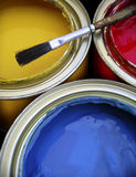 Paint Cans Stock Images