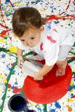 Paint Children royalty free stock images