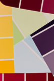 Paint chips Stock Photo