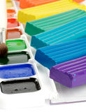 Paint and Clay Stock Images
