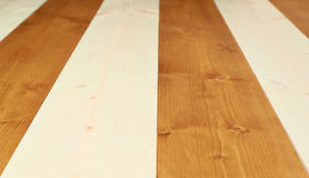 Paint coated wooden boards Royalty Free Stock Images