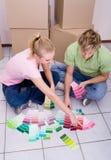 Paint color stock photo