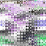 Paint colorful dotted spots. Grunge element for modern design. Emotional art. Abstract background. Purple, green, red, white. Stock Photography